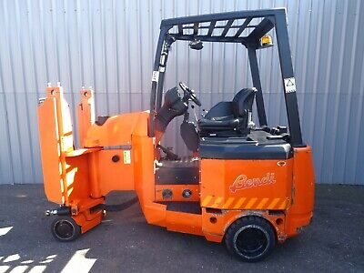 BENDI B420. 2000Kg. USED ARTICULATED ELECTRIC FORKLIFT TRUCK. (#2376) • 15,540£