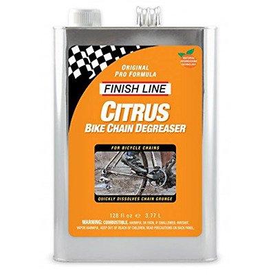 Finish Line Citrus Bike Degreaser - 1 Gallon - CP0010101 • 67.38£