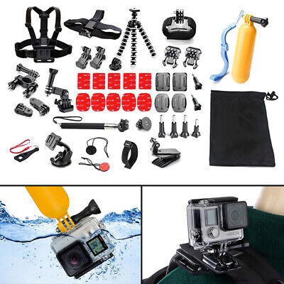 $ CDN24.53 • Buy 42 IN 1 Chest Head Strap Mount Accessories Set Kit For Gopro Hero 1 2 3 4 5 6