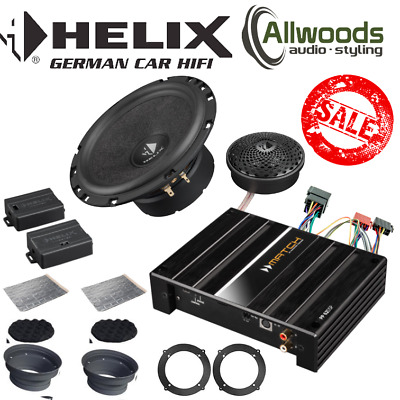 Toyota Avensis Upgrade Helix S62C+Match PP 62DSP+Plug & Play Harness+Adapters  • 629.99£