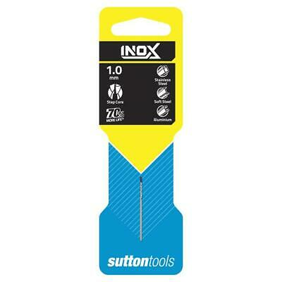 AU80 • Buy Qty 20 Suttons INOX Jobber Drill Bit 1mm Metric For STAINLESS STEEL
