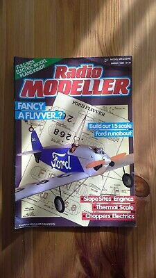 £2.50 • Buy Radio Modeller Magazine March 1988 With Plans