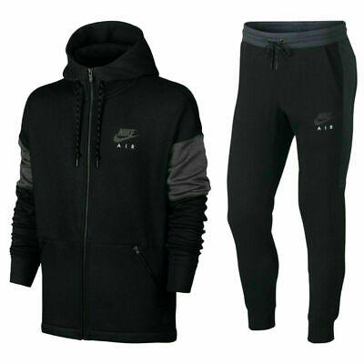 New Mens Nike Air NSW Tracksuit Top Bottoms Fleece Hoodie Jogger All Sizes • 67.99£