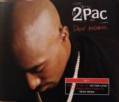 2pac Dear Mama Cd1 3 Track Cd Single • 4£
