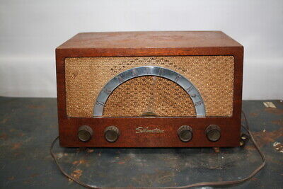 $ CDN103.67 • Buy Silvertone 1017 Chassis 528.210 Wooden AM Table Radio Vacuum Tube