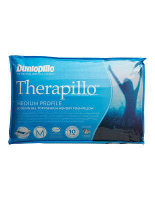 View Details Therapillo Cooling Gel Top Memory Foam Pillow In Medium Profile • 90.00AU