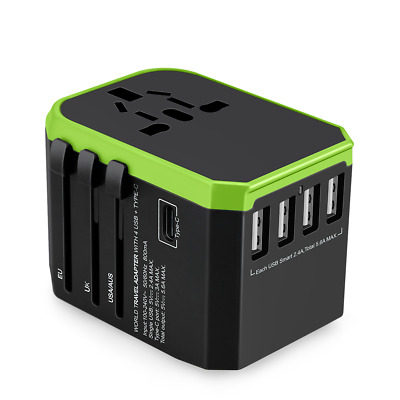 AU27.65 • Buy 4 USB Ports Adapter - Travel Power Plug  Small And Light Body, Strong Function