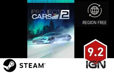 Project Cars 2 Deluxe Edition [PC] Steam Download Key - FAST DELIVERY • 11.99£