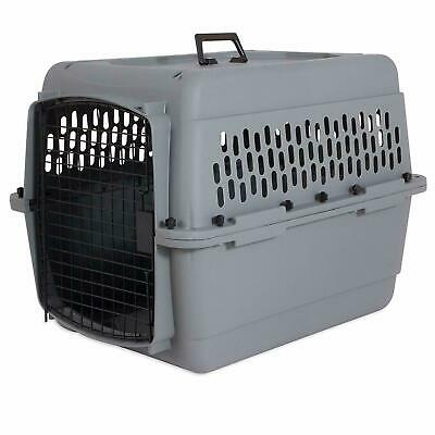 $79.99 • Buy Aspen Kennel Dog Crate Plastic Travel Airline Pet Carrier Large Lbs Handle New