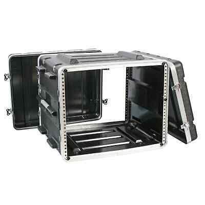 Pulse ABS-8U 19  8U Rack ABS Flight Case - Rack Mount Equipment Cabinet Case DJ • 89£
