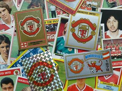Manchester United Stickers 1978-1991 (Panini/FKS/Merlin/Others) • 10£