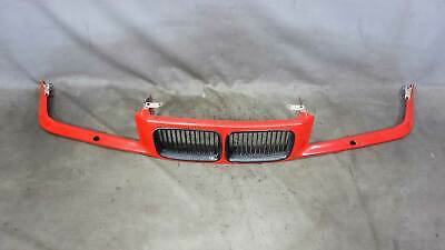 $135 • Buy 1992-1996 BMW E36 3-Series Front Nose Panel Grilles Headlight Wash Bright Red OE