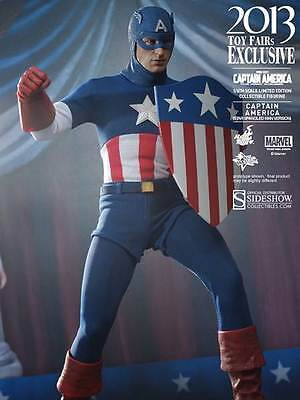$379.99 • Buy Hot Toys Captain America Star Spangled Man Version 1/6 Scale Action Figure