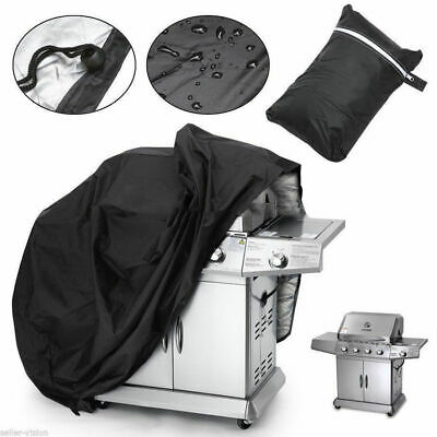 AU20.39 • Buy 4 Burner BBQ Grill Cover Waterproof Gas Charcoal UV Protector Barbecue Outdoor