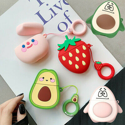 $ CDN6.27 • Buy For Apple AirPods 2 1 Cute 3D Fruit Cartoon Case Bag Silicone Protective Cover