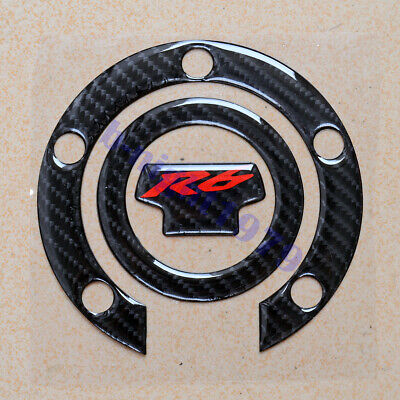 $12.40 • Buy Gas Oil Fuel Tank Cap Decal Sticker For Yamaha YZF-R6 2001-2016 02 03 04 05 06