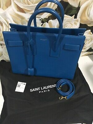 AU2000 • Buy Saint Laurent Bag YSL Sac De Jour Small Indigo Colour Excellent Condition
