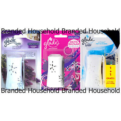 Glade One Touch Press Click Air Freshener Machine & Refill Choose Scent 10ml • 5.49£