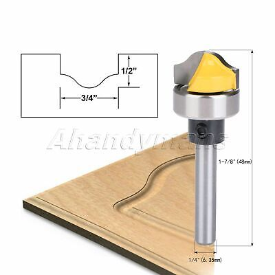 Carbide Profile Groove Template Router Bits Milling Forming Cutter 1/4  Shank • 5.05£