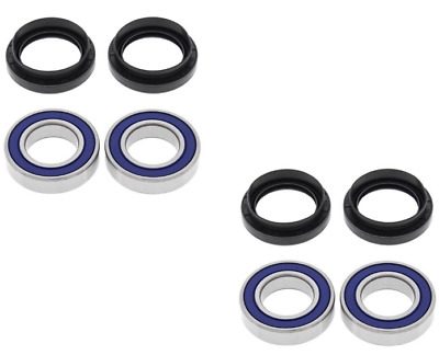 $52 • Buy All Balls Front Wheel Bearings + Seals For 1998-2002 Yamaha Grizzly 660 YFM660