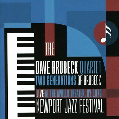 Dave Brubeck Quartet - Two Generations Of Brubeck: Apollo Theater 1973 (CD)  NEW • 4.95£