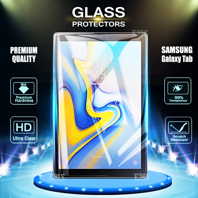 AU11.99 • Buy 2X Samsung Galaxy Tab A 10.1 2019 10.5 S4 S5e Tempered Glass Screen Protector