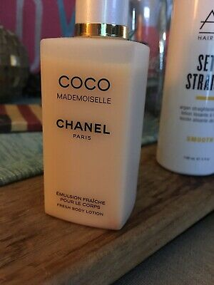Coco Chanel Mademoiselle Fresh Body Lotion Partial 3.4 Fl Oz ~99% Full • 45$