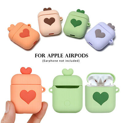 $ CDN3.82 • Buy Silicone Protective Case Cover For Apple AirPods Love Heart Wireless Earphone