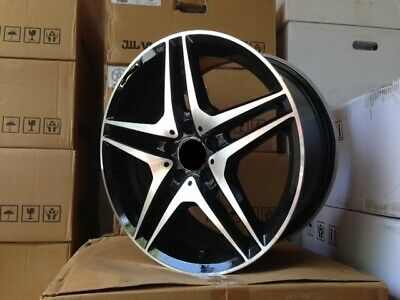 $799 • Buy 19  Amg Black Rims Wheels Fits Mercedes Benz S Class S430 S500 S550 S400 S600