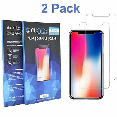 AU6.45 • Buy 2x NUGLAS Tempered Glass Screen Protector Apple IPhone XS Max XR 8 7 6 Plus 11
