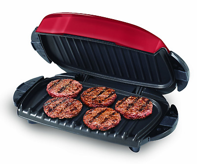 George Foreman 5-Serving Removable Plate Electric Indoor Grill And Panini Press, • 58.15£