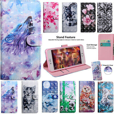 AU10.68 • Buy For Sony Xperia L3 XA2 XZ3 10 5 L4 Card Slot Wallet Flip Leather Case Cover