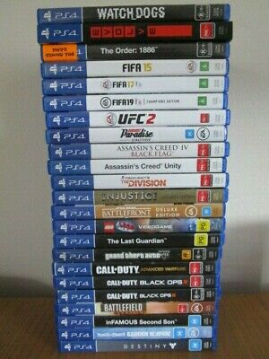 AU42 • Buy PlayStation 4 Games Ps4 Games *Choose Your Own Game* Ps4 Games Free Postage Ps4