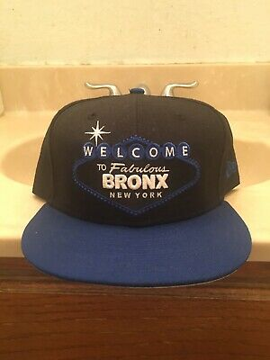 0855278855083 New Era Custom 59 50 Welcome To Fabulous Bronx New York Fitted Hat Cap 7 3