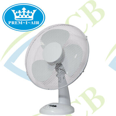 16  Inch Desk Table Fan Electric Portable Oscillating Office WINTER CLEARANCE  • 24.99£