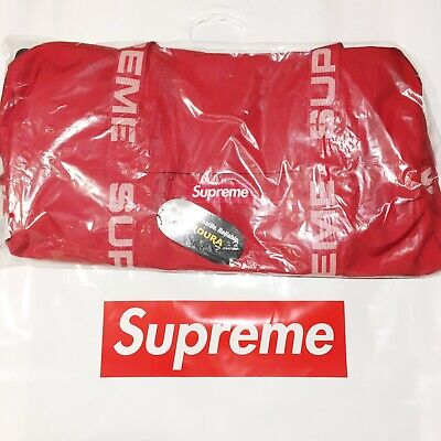 $ CDN638.09 • Buy NEW Supreme SS18 Cordura Duffle Bag 36L Red - IN HAND 100% Authentic!