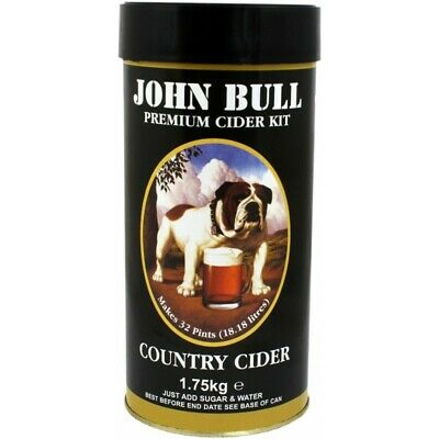 John Bull - Country Cider - 40 Pint Cider Kit - Homebrew - Beer Brewing - Wine M • 18.95£