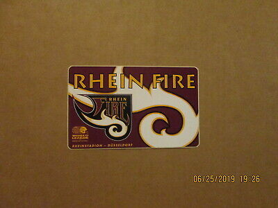 $ CDN33.10 • Buy World League Rhein Fire Vintage Defunct 5 Inch Team Logo Football Sticker