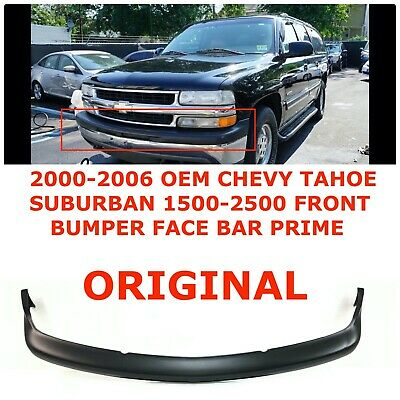 $100 • Buy 2000-2006 Chevy Tahoe Suburban 1500-2500 Front Bumper Face Bar PRIME 88937339