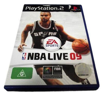 AU11.90 • Buy NBA Live 09 PS2 PAL *Complete*