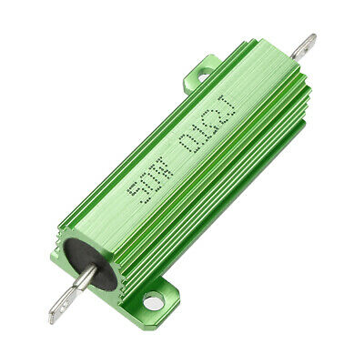 $8.08 • Buy 50W 0.1 Ohm Aluminium Housing Chassis Mount Wirewound Power Resistor Green 1pcs