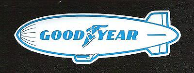Goodyear Blimp Retro Sticker, Vintage Sports Car Racing Tires • 5$