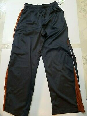 $19.99 • Buy Boys Tek Gear Brand Dk Gray & Rust Lt. Gray Trim Exercise Pants Size XL 18/20