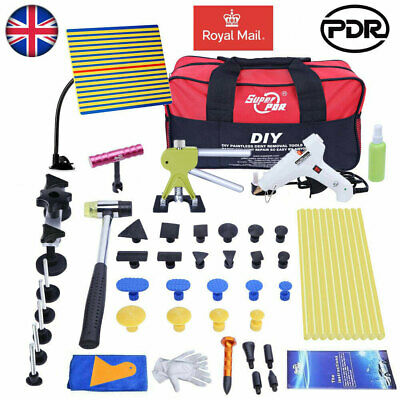 UK 52× PDR Tools Dent Puller Lifter Car Body Paintless Hail Removal Glue Gun Tap • 43.74£