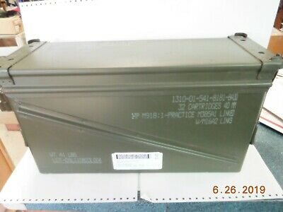 $33.95 • Buy US Military Surplus 20mm M548 Large Ammo Can