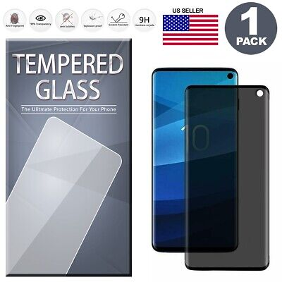 $ CDN8.27 • Buy Samsung Galaxy Note 8 9 S8 S9 S10 Plus PRIVACY Tempered Glass Screen Protector