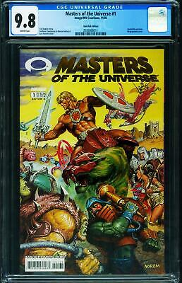 $245 • Buy Masters Of The Universe #1 CGC 9.8 2002 Image Gold Foil Variant 2036868011
