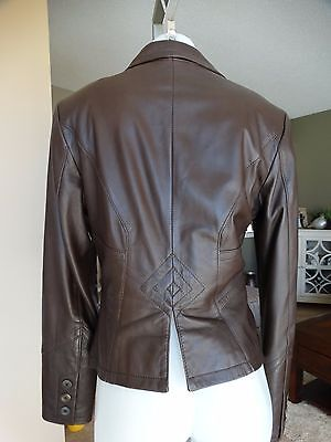 $ CDN110.99 • Buy Gorgeous Fitted Italian Leather Jacket From Danier Small