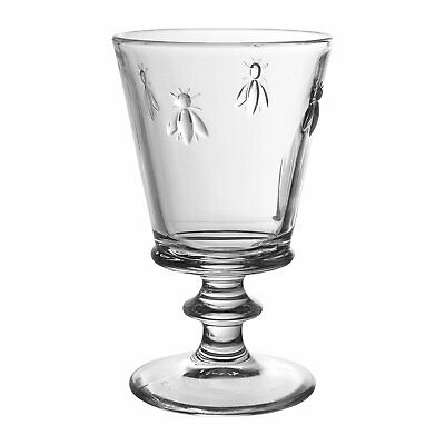 La Rochere Bee Large Stemmed Glass  - Wine/Water Glass - 350ml - Made In France • 7.95£