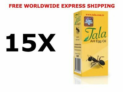 15 X 20ml Tala Ant Egg Oil Hair Removal Free Shipping • 68£
